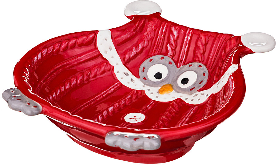Блюдо Lefard Сова, 19,5 х 17 х 5 см. JY16H906B коробка подарочная veld co giftbox трансформер белые розы цвет разноцветный 17 5 х 17 5 х 17 см