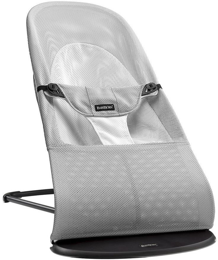 цена на Кресло-шезлонг BabyBjorn Balance Soft Air, цвет: серый