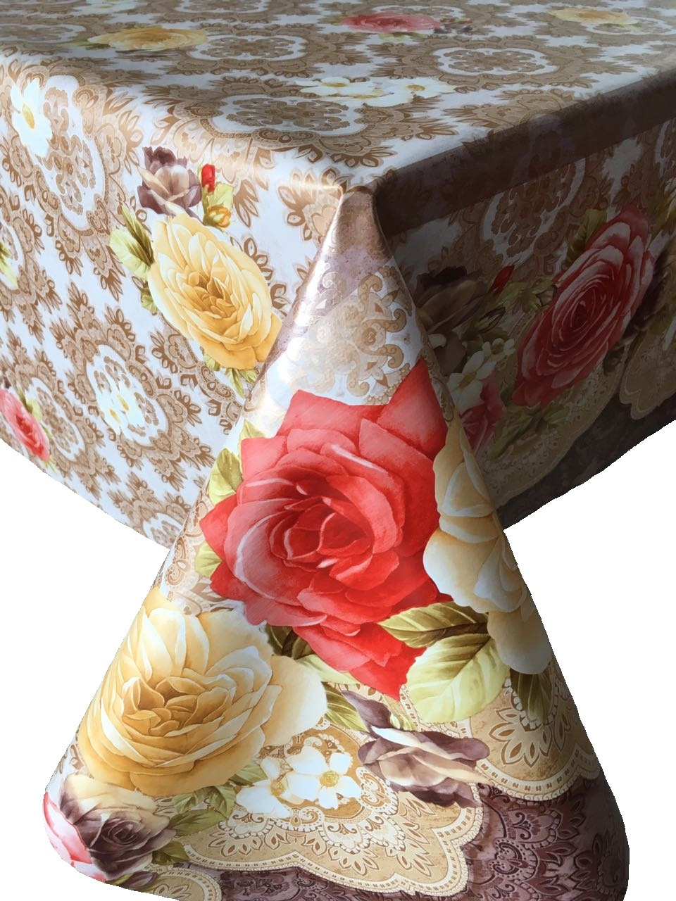 Клеенка столовая LCadesi Florista, прямоугольная, 130 х 165 см. FL130165-441-02FL130165-441-02Столовая клеенка LCadesi Florista с ярким дизайном украсит ваш стол и защитит его от царапин и пятен. Благодаря основе из нетканого материала не скользит по столу. Клеенка не имеет запаха и совершенно безопасна для человека