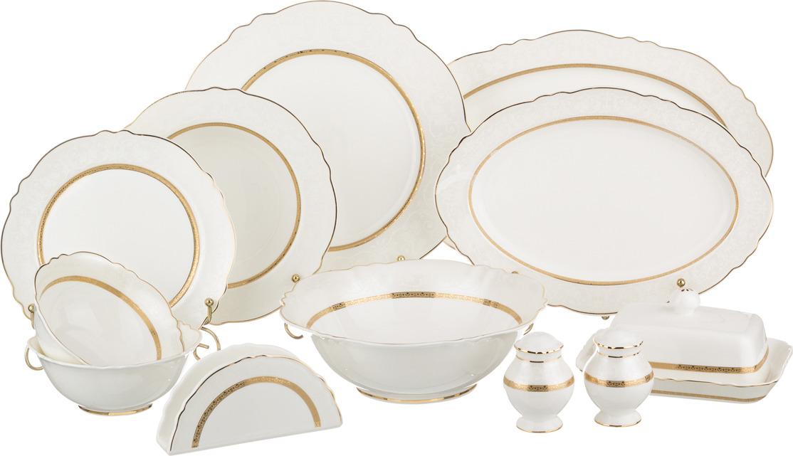 Сервиз столовый Lefard Майский, 27 предметов. S3271H-15D069 сервиз обеденный lefard 26 предметов золотая обводка