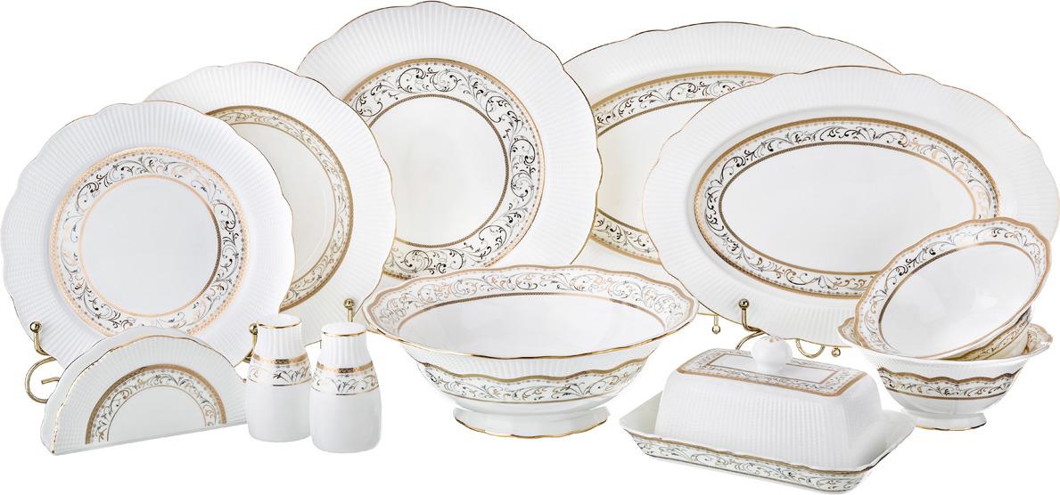 Сервиз столовый Lefard, 27 предметов. S2975H-17D028 сервиз обеденный lefard 26 предметов золотая обводка