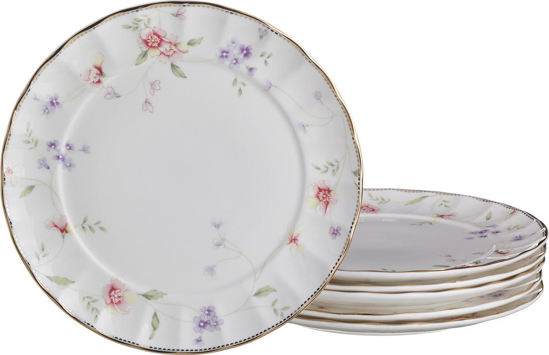 Набор подстановочных тарелок Lefard Пасадена, диаметр 27 см, 6 шт. 760221 набор суповых тарелок certified international винтаж новогодний диаметр 22 см 4 шт