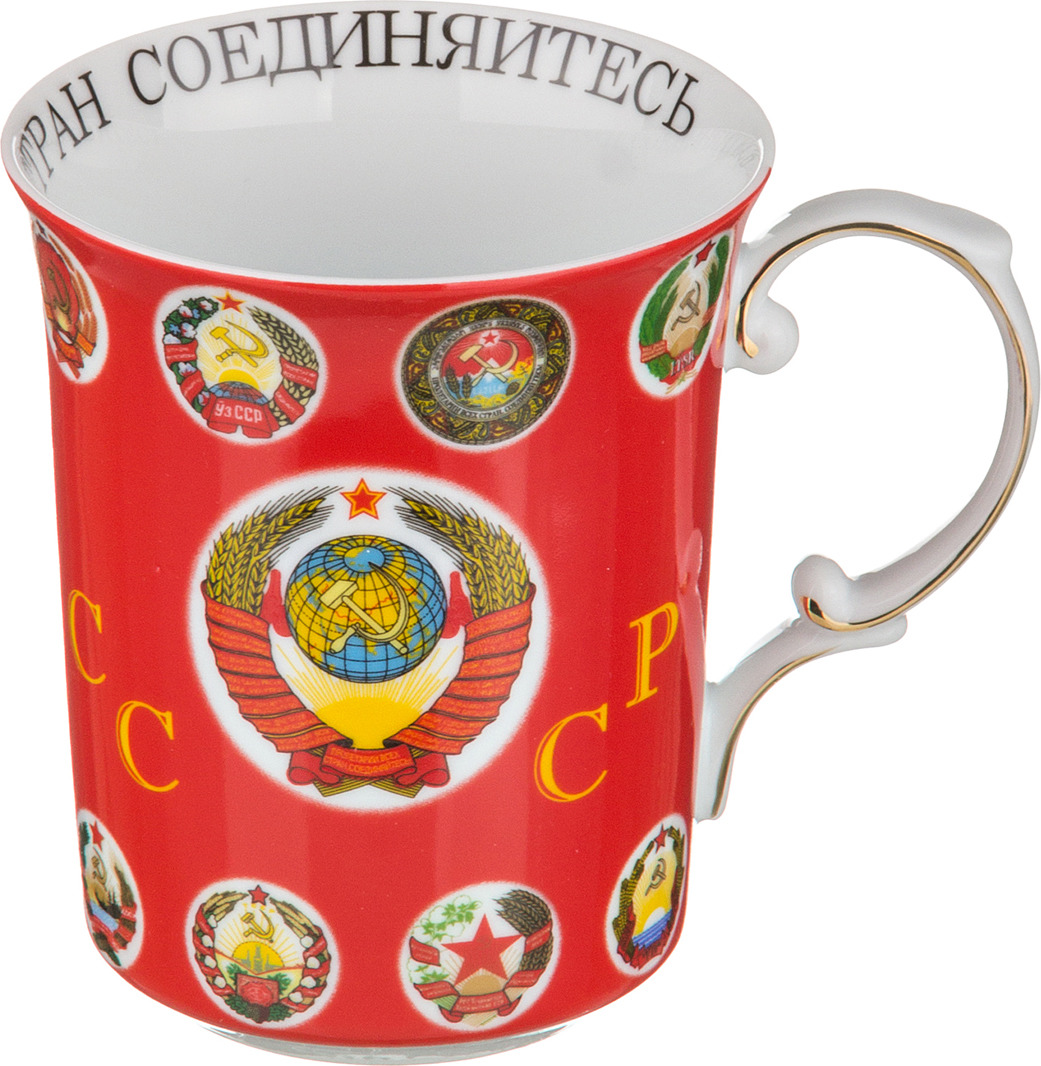 Кружка Lefard СССР, 500 мл. M4193 кружка lefard флаги стран мира 500 мл m3532