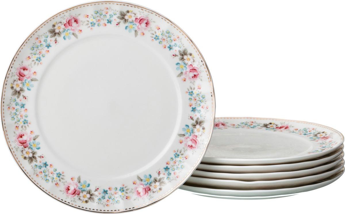 Набор десертных тарелок Lefard Мадемуазель Кики, диаметр 20 см, 6 шт. P184/6-2 набор десертных тарелок pasabahce aurora диаметр 20 5 см 6 шт