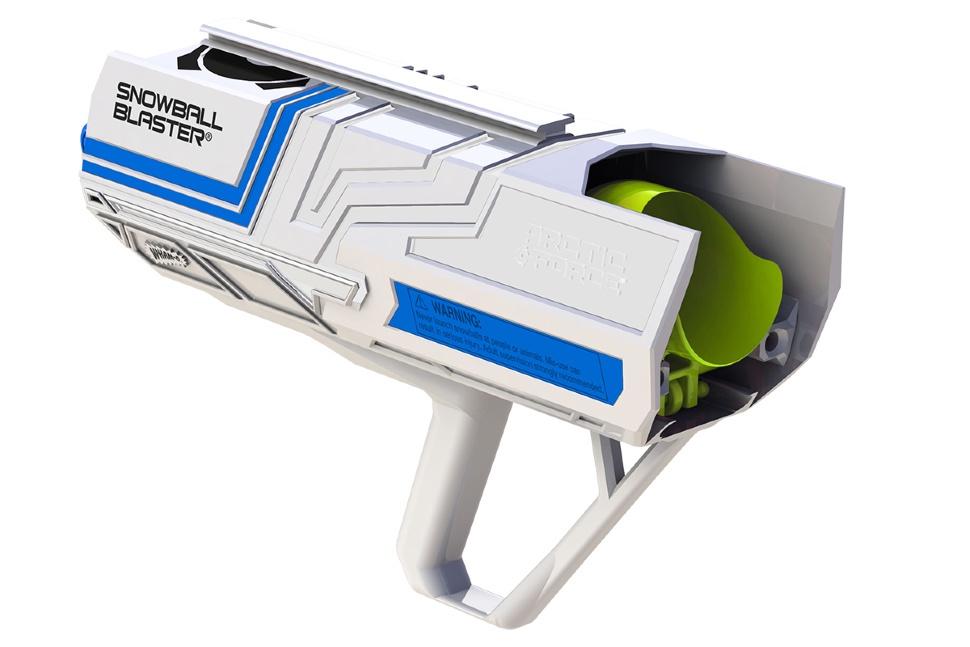 Cнежкобластер Wham-O Snow blaster, цвет: белый, голубой. 39063