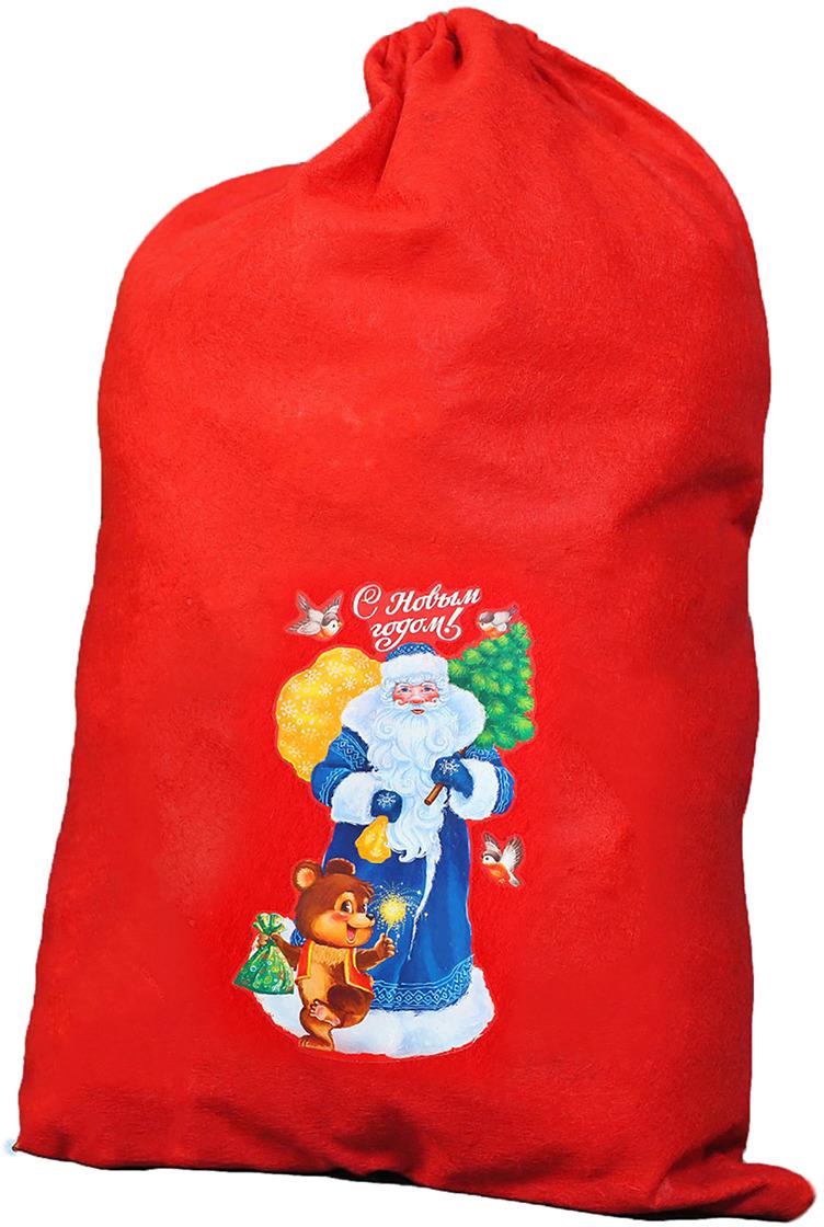 Мешок Деда Мороза Страна Карнавалия С Новым Годом!, 40 х 60 см. 3292113 мешок деда мороза страна карнавалия с новым годом 60 х 90 см 3292118