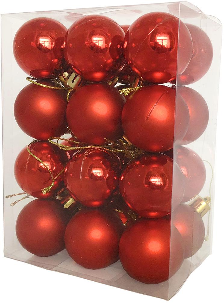 Фото - Набор елочных шаров Магия праздника, диаметр 4 см, 24 шт. NY047 набор елочных шаров магия праздника ny032 красно белый диаметр 6 см 12 шт