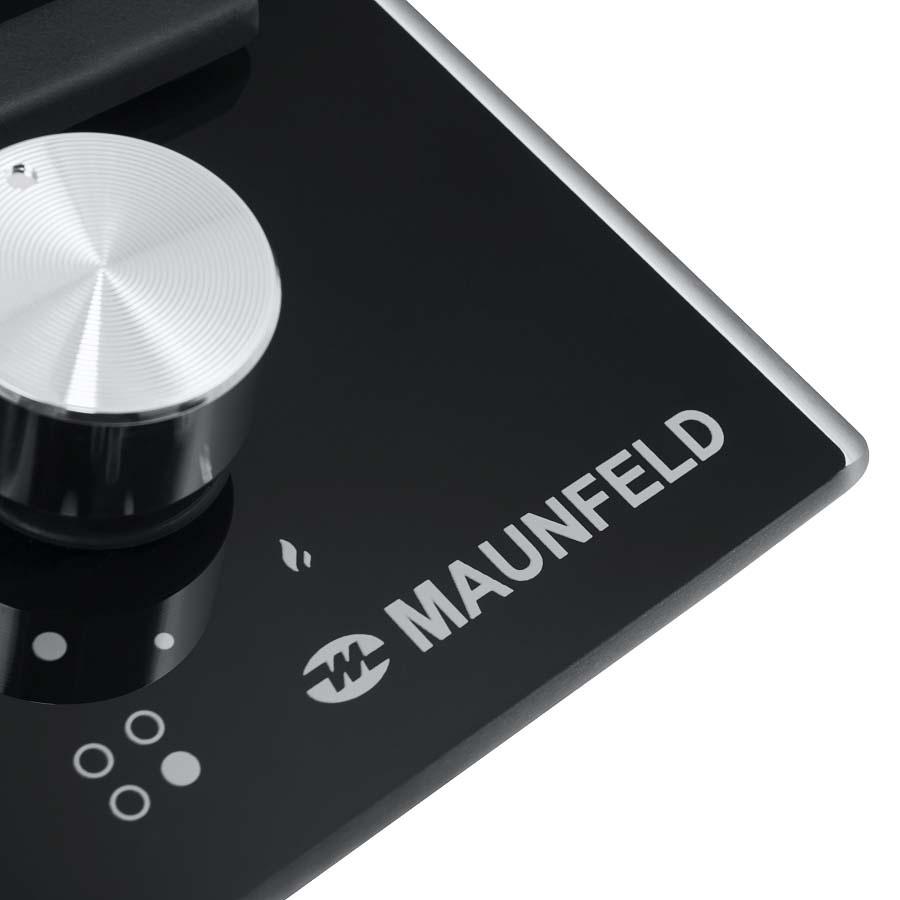 Варочная панель MAUNFELD EGHG. 64. 33CB/G, EGHG. 64. 33CB/G, черный Maunfeld