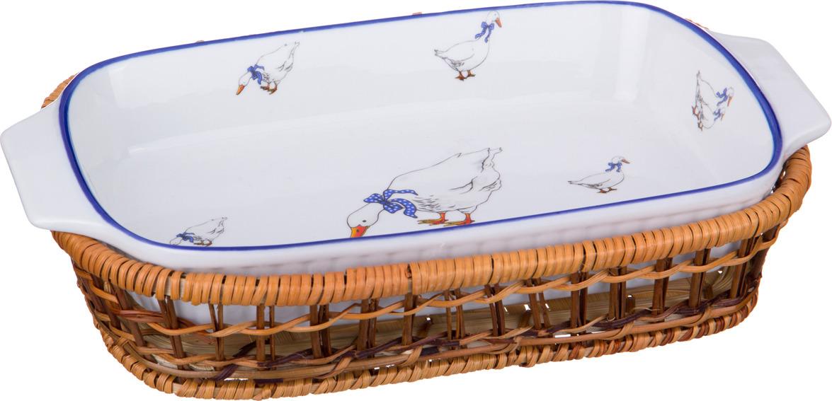 Шубница Lefard, на подставке, 28 х 15 х 4 см. SL115-11_1 блюдо шубница lefard пасадена 25 х 14 х 4 см a26 m