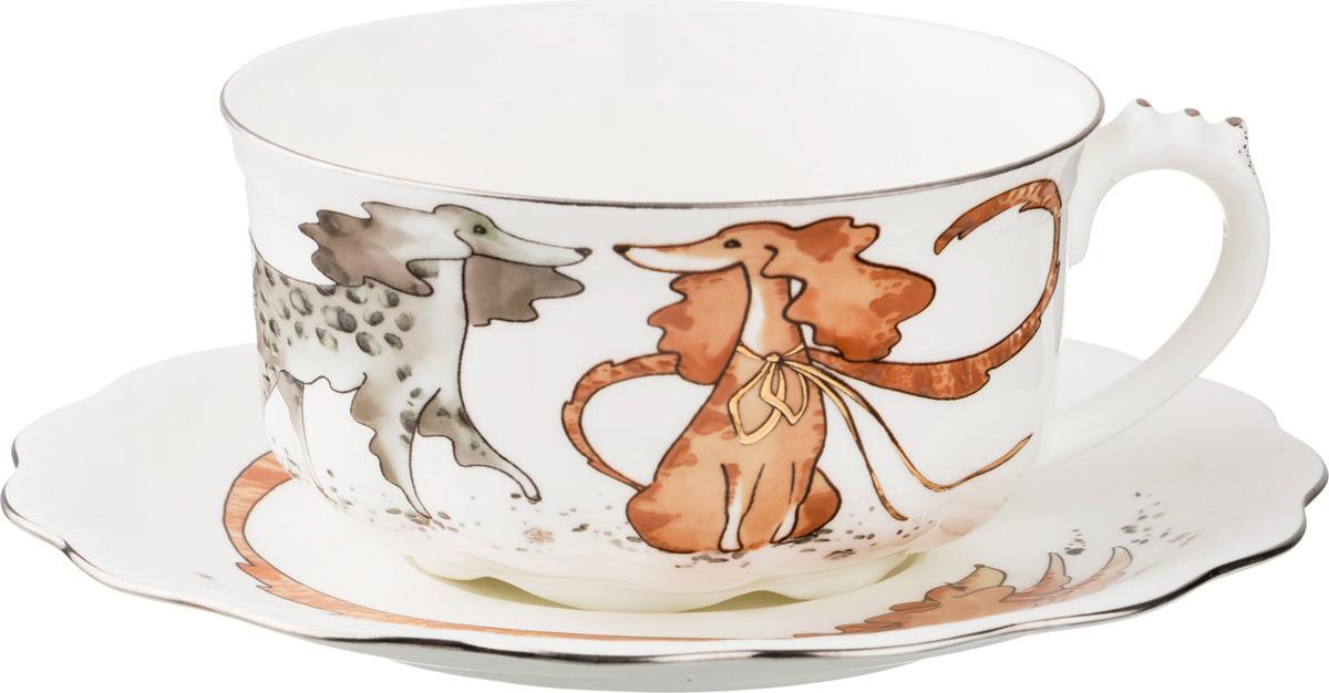 Набор чайный Lefard Мушкетеры, 2 предмета. 375CC набор чайный lefard 2 предмета yjz10 001