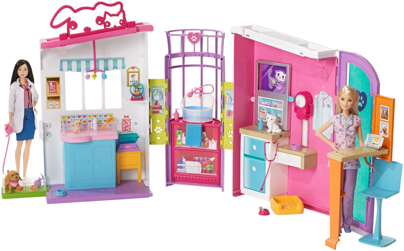 Barbie Игровой набор Ветеринарный центр