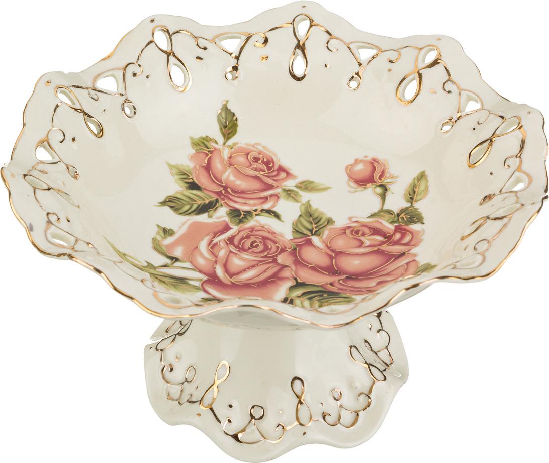 Фруктовница Lefard Корейская роза, 23 х 23 х 12 см. CK-6083 блюдо lefard корейская роза 34 х 30 х 5 см ck 4333