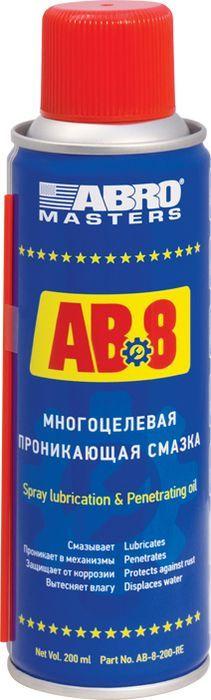 Смазка многоцелевая Abro, проникающая, 200 мл abro 027368 37 13