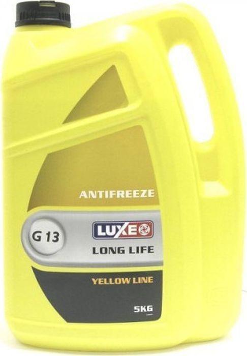 Антифриз LUXE, желтый, -40, 5 кг
