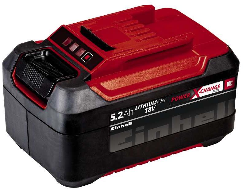 Фото - Аккумулятор Einhell PXC Plus, 18В, 5,2 Ач аккумулятор dexter 2 ач li ion 18 в для аккумуляторного инструмента