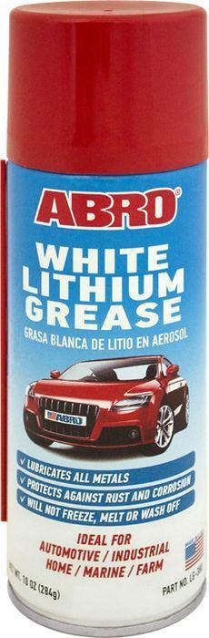 Смазка-спрей литиевая Abro Литол, Литол283 г краска спрей abro masters цвет серый грунт sp 008 am