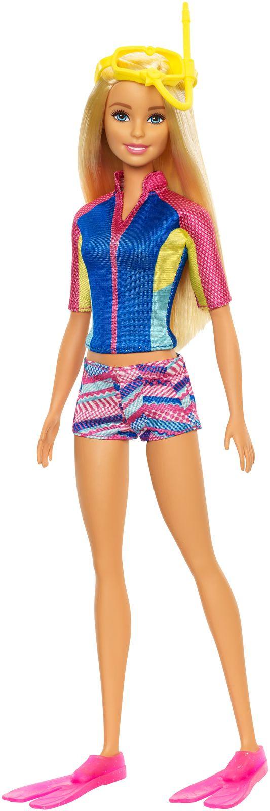 все цены на Barbie Морские приключения Кукла онлайн