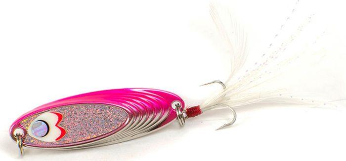 "Блесна Yoshi Onyx ""Yalu Must"", цвет: белый, розовый, 5 г"