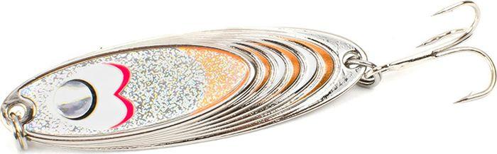 Блесна Yoshi Onyx Yalu Must, цвет: белый, оранжевый, 15 г