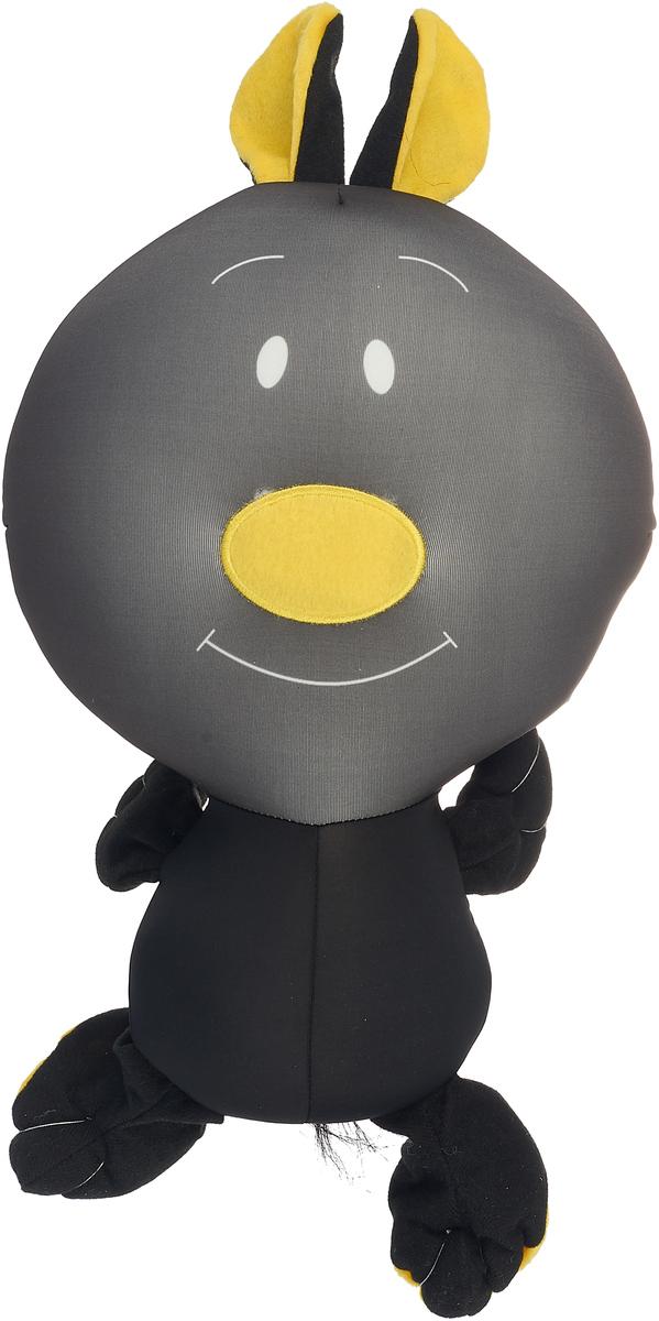 Игрушка антистресс Штучки, к которым тянутся ручки Заяц Кнопик черный игрушка антистресс штучки к которым тянутся ручки лиса открытка в ассортименте 18асо03ив