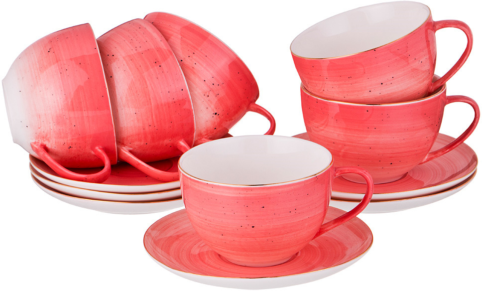 Набор чайный Lefard Колор Де Аква, 12 предметов. 388579 аква колор колер аква колор синий 100мл