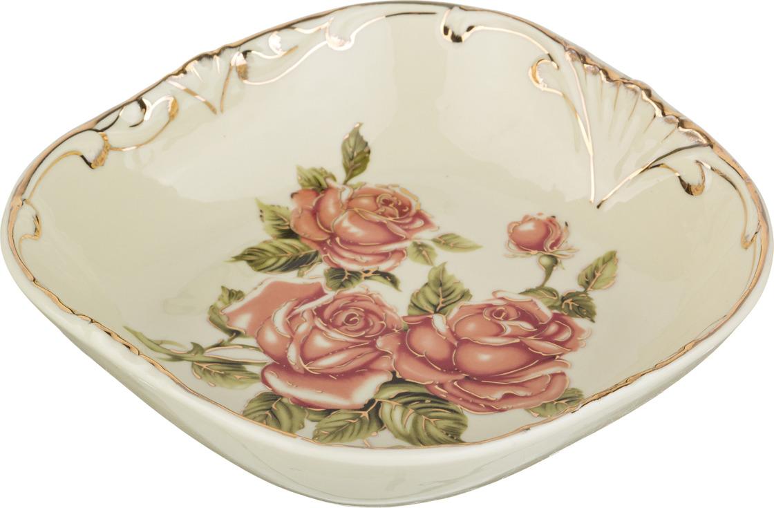 Салатник Lefard Корейская роза, 18 х 18 х 5 см. CK-4353S блюдо lefard корейская роза 34 х 30 х 5 см ck 4333