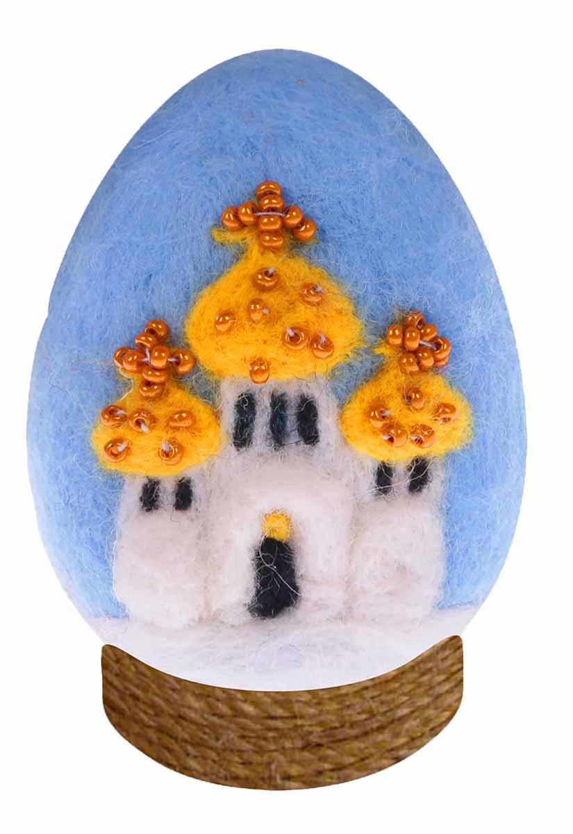 Набор для валяния игрушки Школа талантов Храм, 9 х 16 см набор для валяния школа талантов новогодний шар снеговик 9 х 9 см