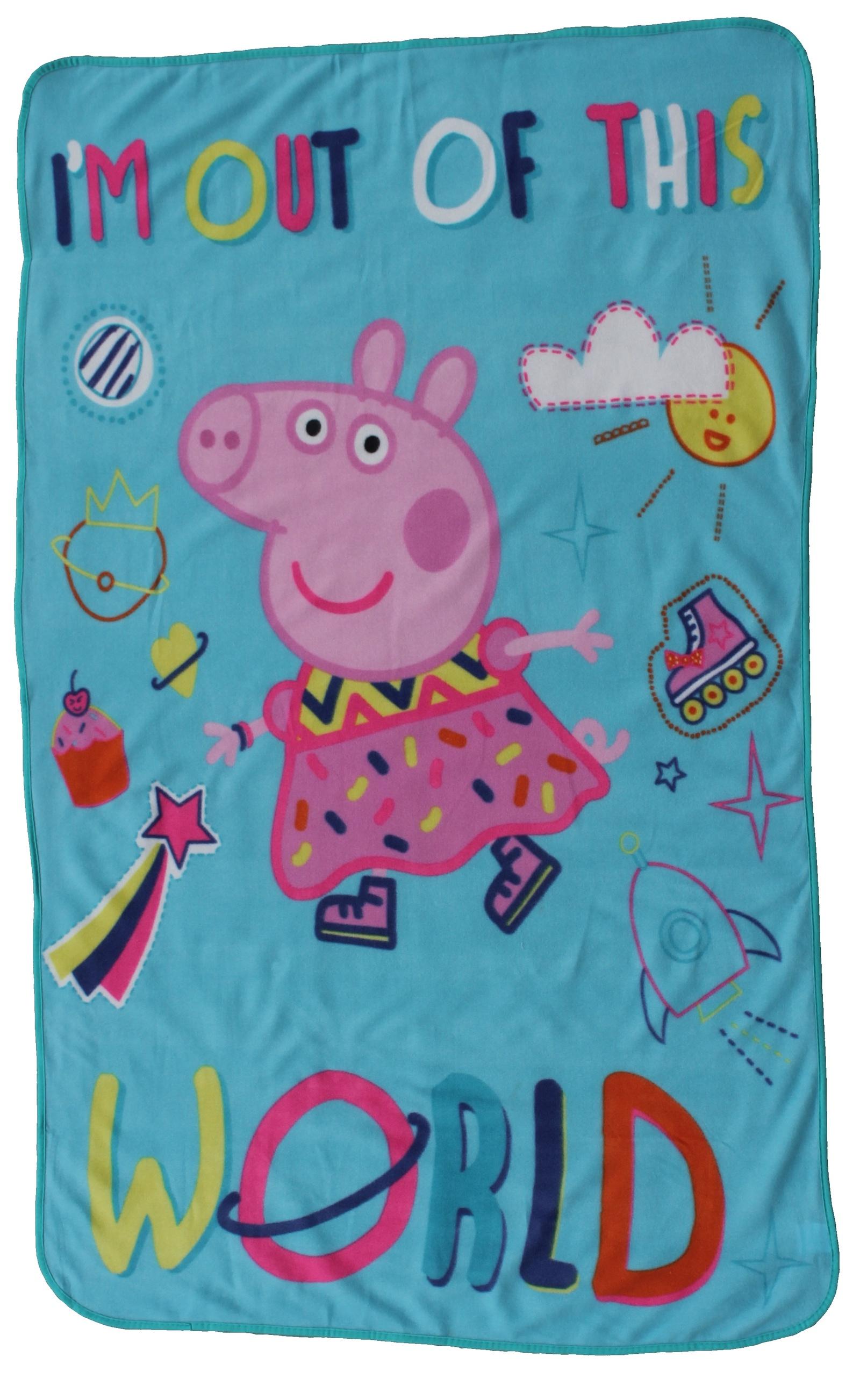 Плед детский Коралл, цвет: голубой, 100 х 150 см плед детский cozy home сhicca цвет розовый 70 х 100 см