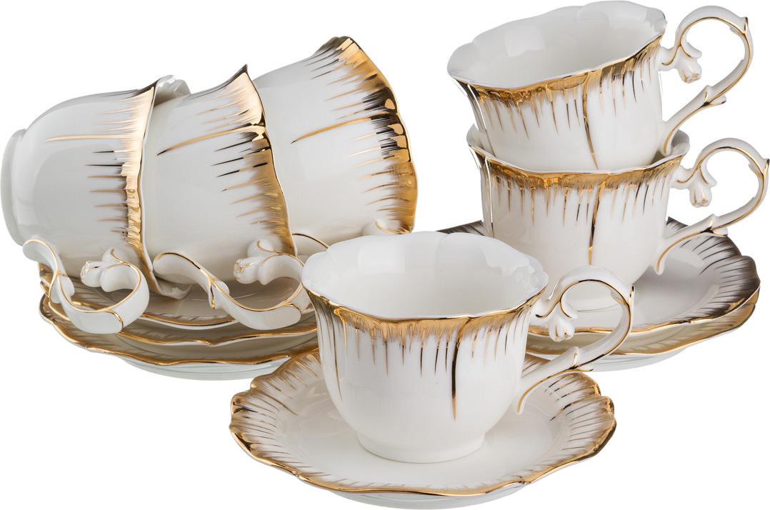 Набор чайный Lefard Цветочная симфония, 12 предметов. 590004 кофейный набор weimar симфония золотая 12 предметов