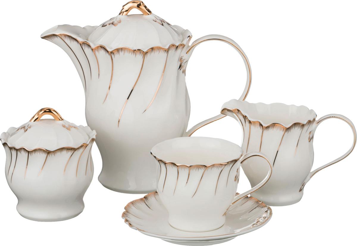 Набор чайный Lefard Зефир, 15 предметов. 590220 набор чайный lefard грэй 15 предметов j086 10 jd v650