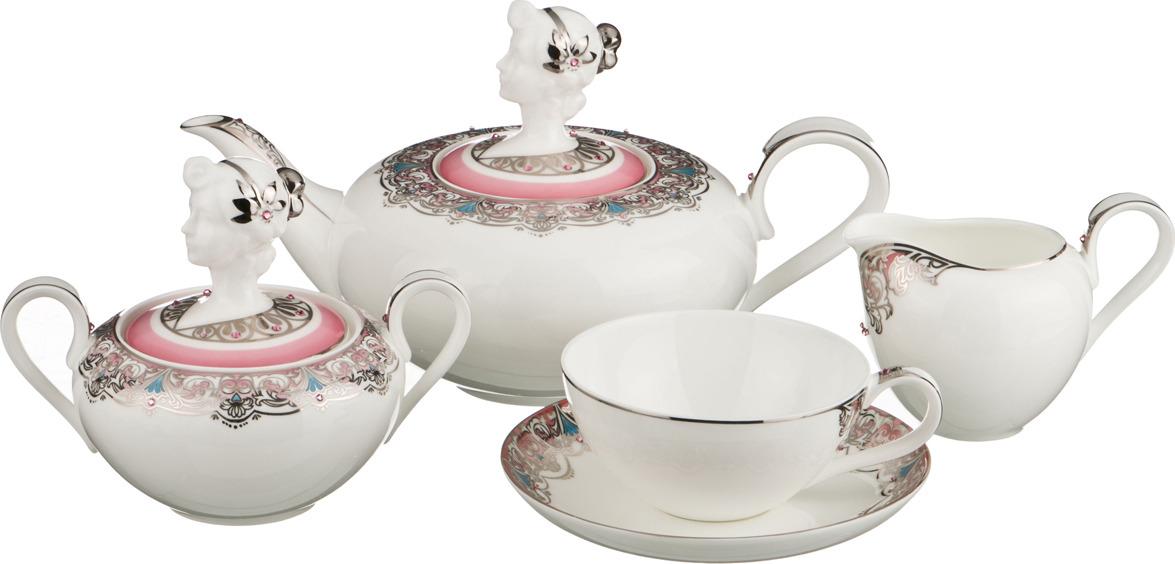 Набор чайный Lefard, 15 предметов. S15-6-JD-V575A цена и фото