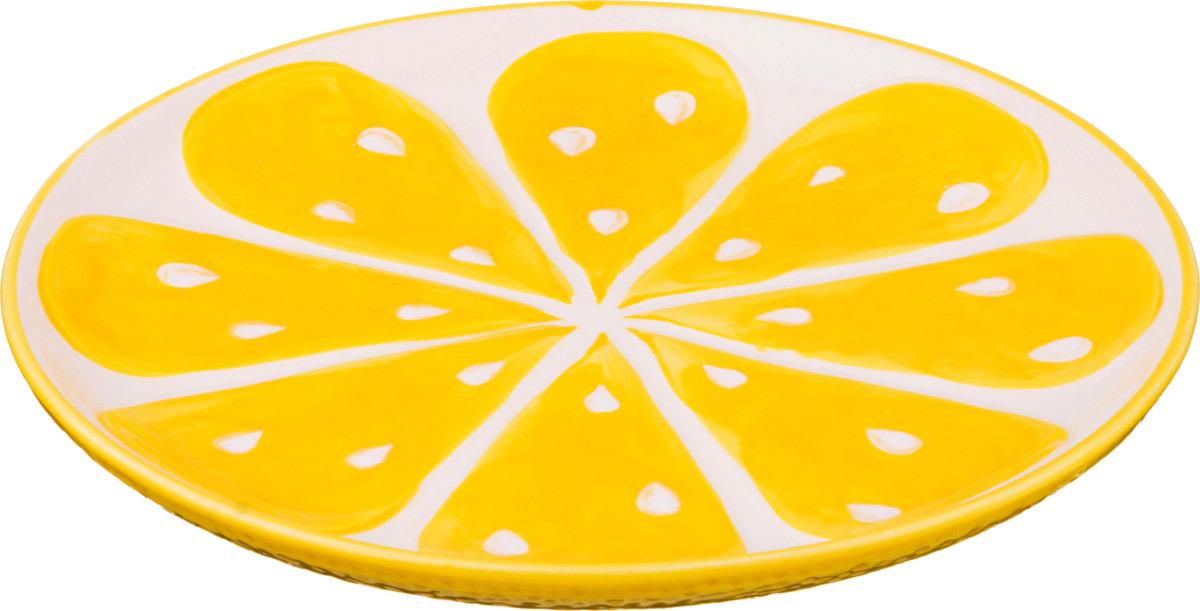 Тарелка Lefard Лимон, диаметр 22 см. C3536-940 опустошитель 22 хронос