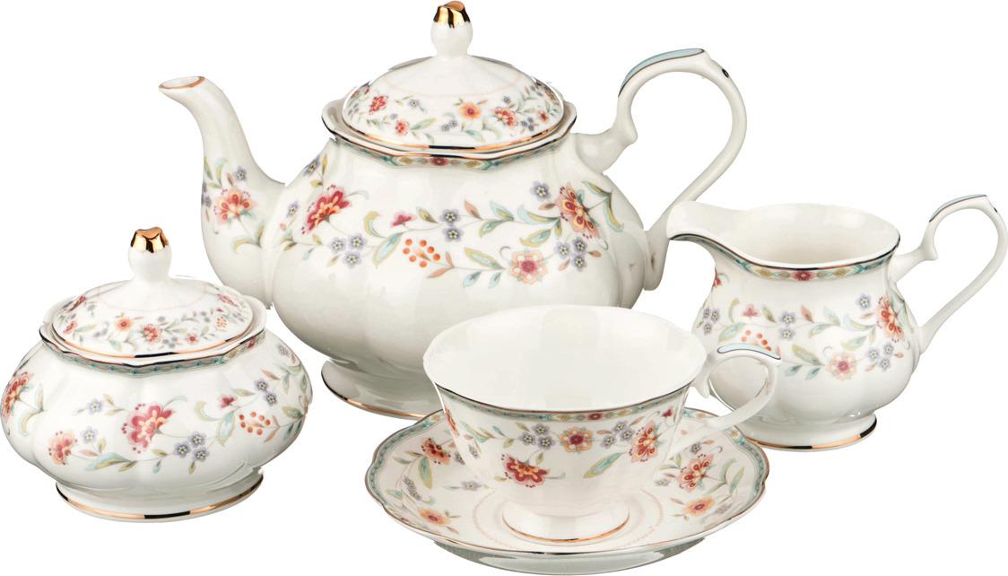 Набор чайный Lefard, 15 предметов. K4803 набор чайный lefard грэй 15 предметов j086 10 jd v650