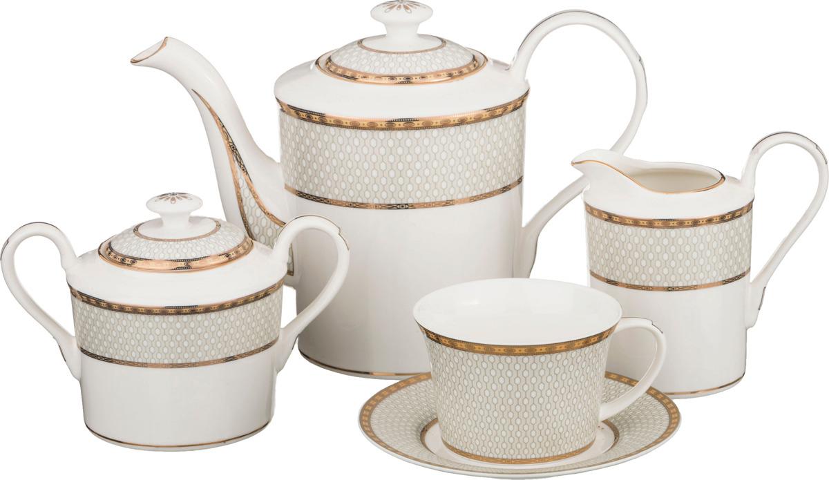 Набор чайный Lefard, 15 предметов. K6413/15T набор чайный lefard грэй 15 предметов j086 10 jd v650