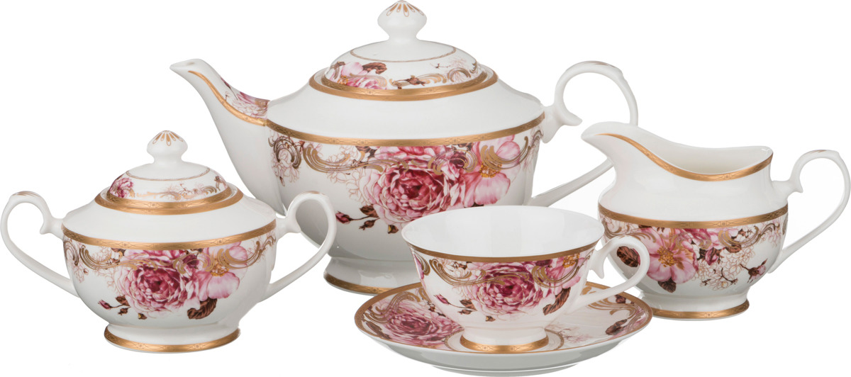 Набор чайный Lefard, 15 предметов. K6956 набор чайный lefard грэй 15 предметов j086 10 jd v650