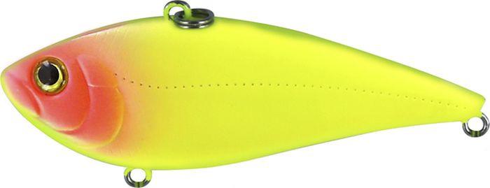 Воблер Trout Pro Tsuribito Vib 528 Chartreuse Pinkhead, длина 70 мм