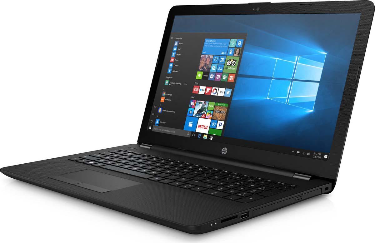Ноутбук HP 15-BS157UR, 3XY58EA, 15.6, черный набор для вина vacuvin насос 2 пробки и 2 каплеуловителя