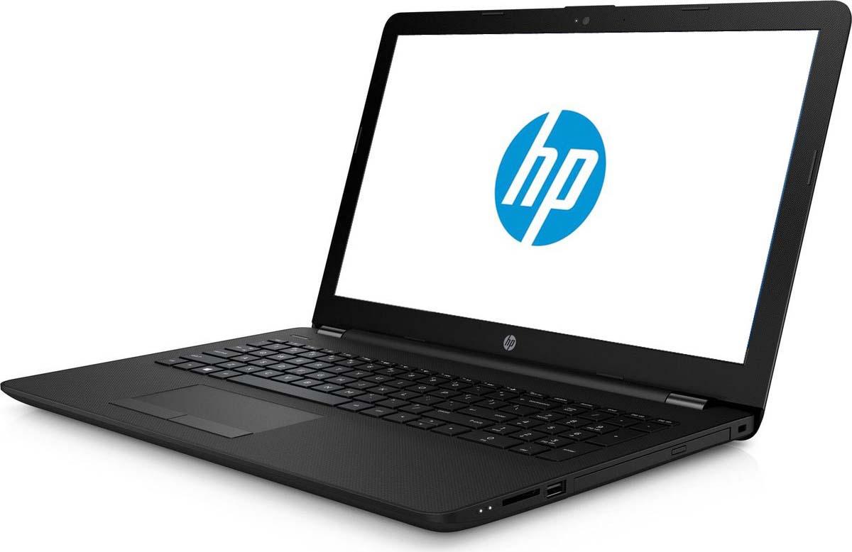 15.6 Ноутбук HP 15-da0066ur 4JR83EA, черный ноутбук