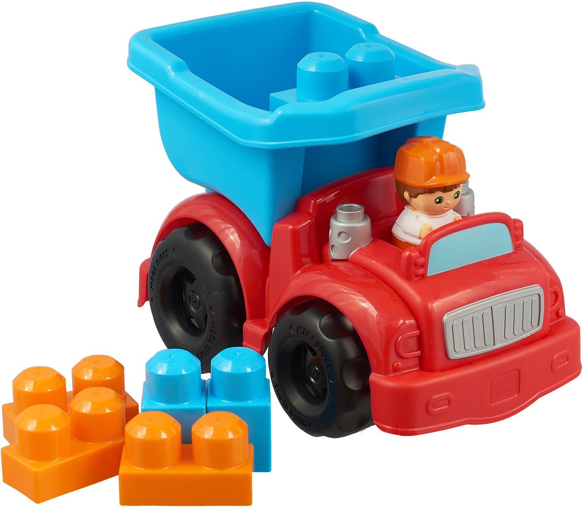 Mega Bloks First Builders Конструктор Маленькие транспортные средства Грузовичок mega bloks first builders конструктор маленькие транспортные средства грузовичок