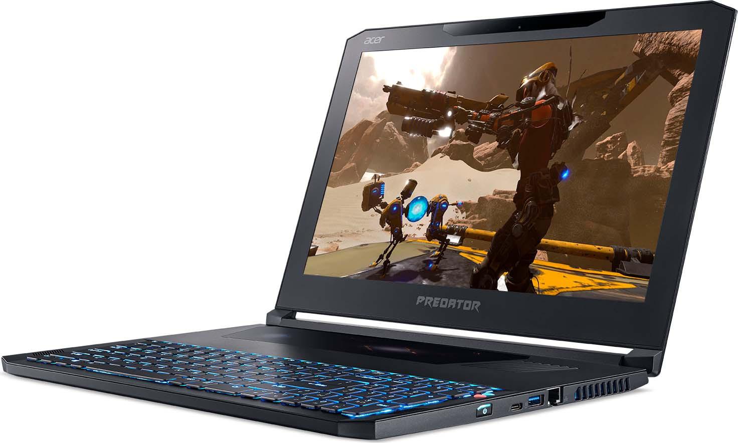 """15.6"""" Игровой ноутбук Acer Predator Triton 700 PT715-51 NH.Q2KER.002, черный"""