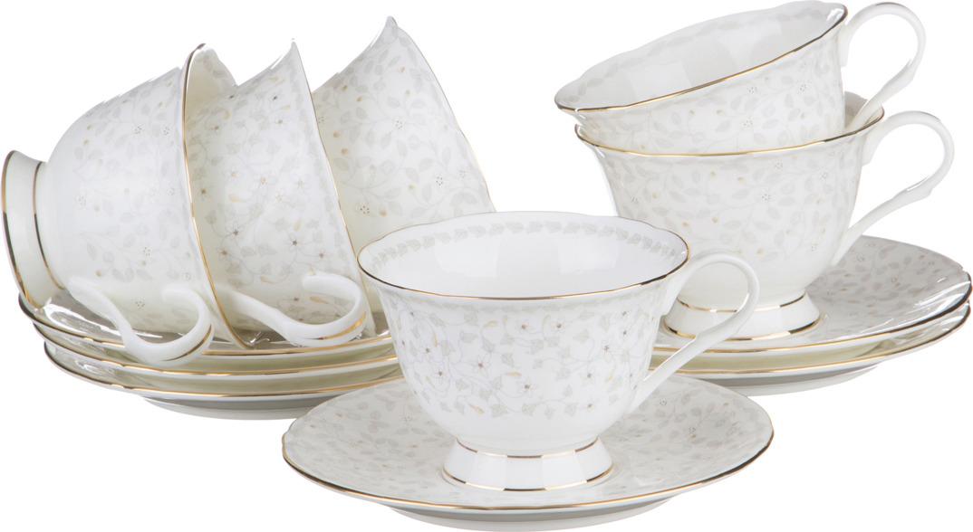 Набор чайный Lefard Вивьен, 12 предметов. HY0085M0806/250CC шейкер 250cc