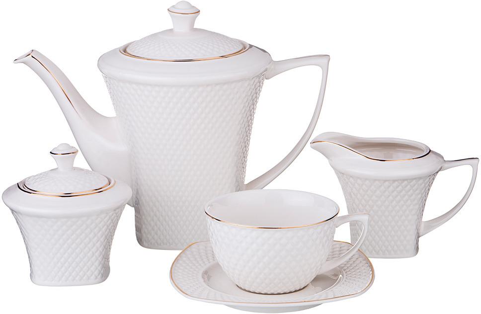 Набор чайный Lefard Диаманд Голд, 15 предметов. AS000334#-G