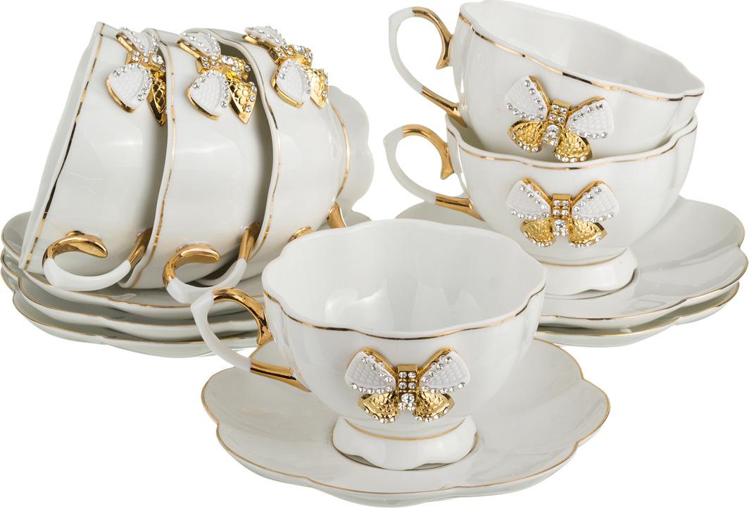 Набор чайный Lefard, 12 предметов. 552554 набор чайный olaff красный стебель 12 предметов