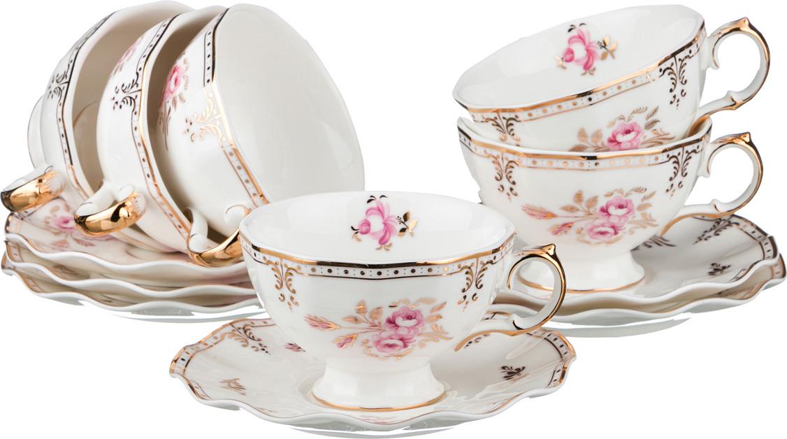Набор чайный Lefard Завтрак у королевы, 12 предметов. 590181 сервиз чайный lefard завтрак у королевы 6 15 фарфор