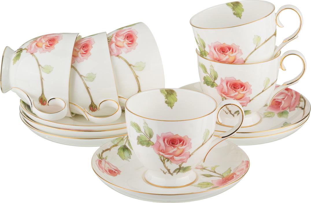 Набор чайный Lefard Амелия 12 предметов250 мл. C055-6-JD-V561G