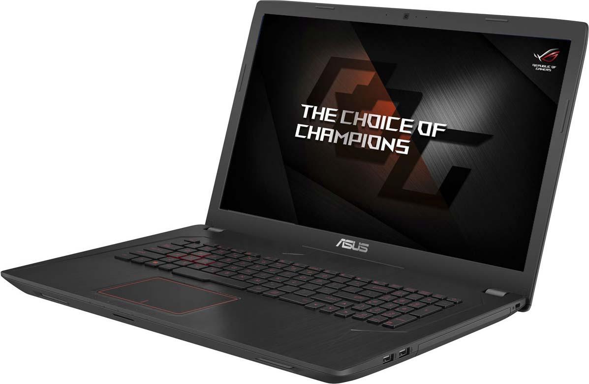 Игровой ноутбук ASUS FX753VD 90NB0DM3-M09900, черный fx753vd gc482t