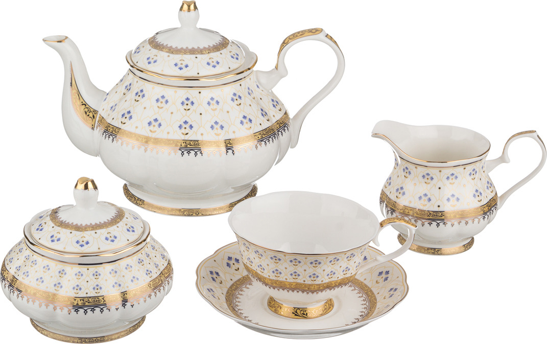 Набор чайный Lefard Анхель, 15 предметов. K5807 набор чайный lefard грэй 15 предметов j086 10 jd v650
