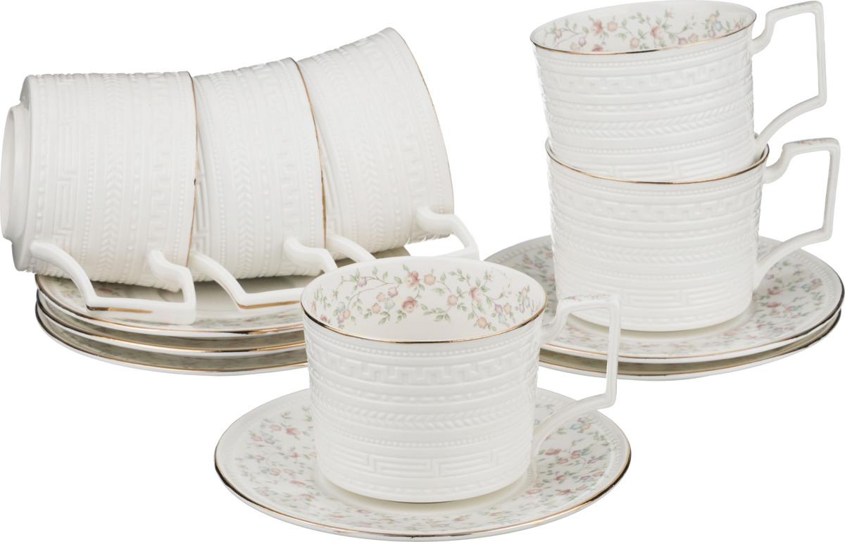 Набор чайный Lefard Фабьен, 12 предметов. K6961/Re2 сервиз чайный lefard фабьен 6 15 фарфор