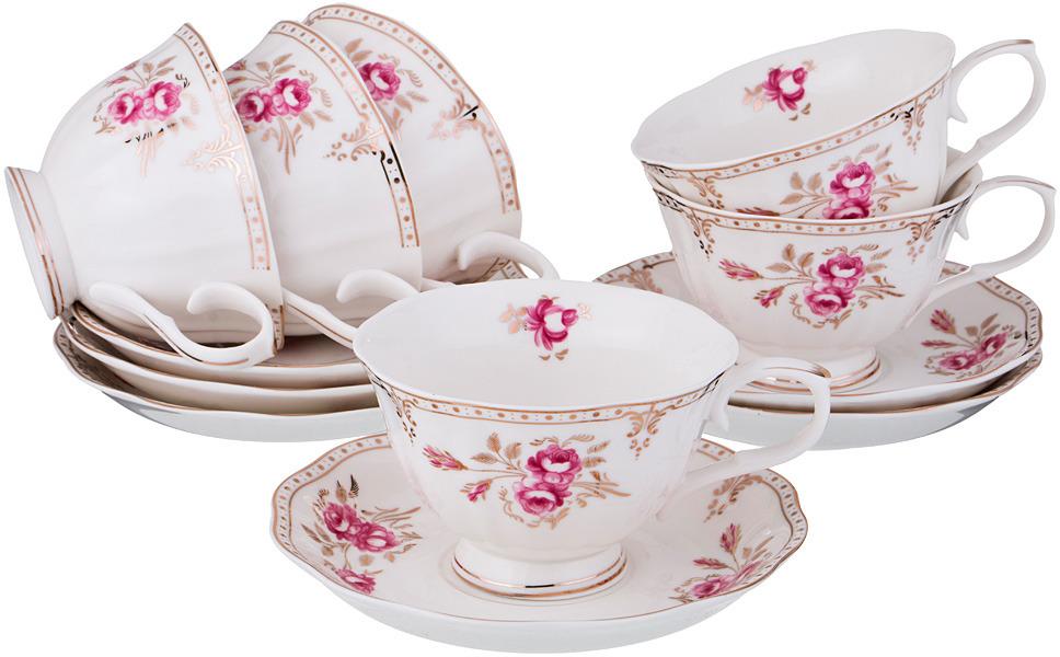 Набор чайный Lefard Завтрак у королевы, 12 предметов. 779235 сервиз чайный lefard завтрак у королевы 6 15 фарфор