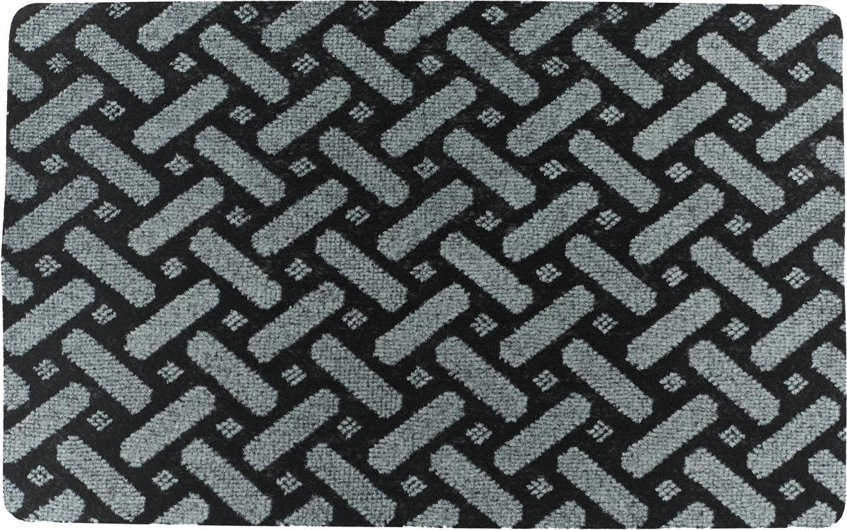 Коврик придверный Vortex Siesta, 22392, цвет в ассортименте, 50 х 80 см коврик придверный на латексной основе vortex milan размер 40х60 см в ассортименте
